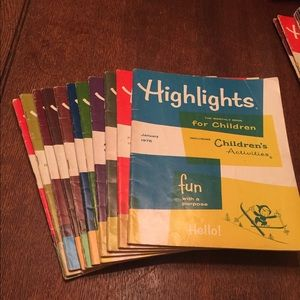 Other - Highlights monthly magazine